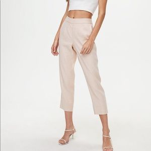 BABATON | Conan Linen Pant Pink Prima Size 0